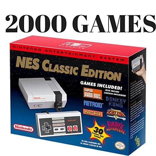 2000 Game Nes Classic Mini Edition Authentic Nintendo Entertainment