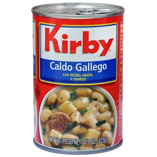 Kirby Galician Brand Soup / Caldo Gallego 15oz 6 Pack