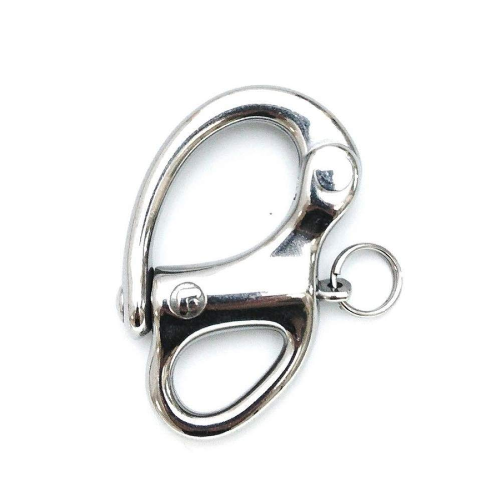 Lindemann WICHARD Stainless Steel Snap Shackle 35 mm Long