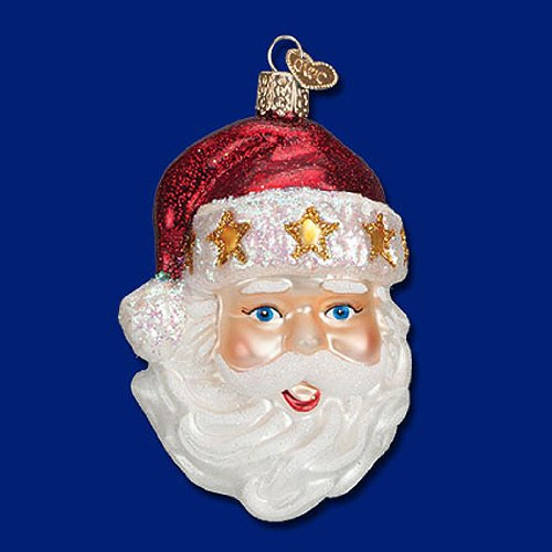 Old World Christmas Starry Hat Santa Claus (Christmas Old World Santa)