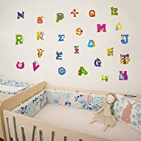 Girls Bedroom Green Picture Alphabet Zoo Animals Nursery Print For Boys