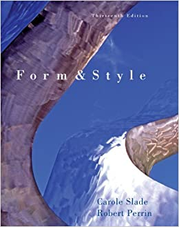 form and style research papers reports theses com books