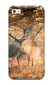 Ultra Slim Fit Hard ZippyDoritEduard Case Cover Specially Made For ipod touch4- Deer