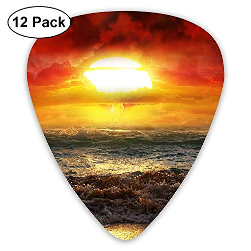 Classic Guitar Pick (12 Pack) Coast Sun Up Player's Pack Electric Guitar,Acoustic Guitar,Mandolin,Guitar -
