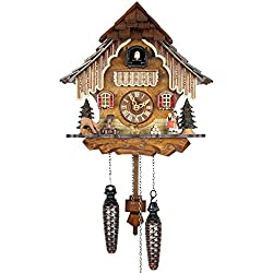 Adolf Herr Quartz Cuckoo Clock - Black Forest House