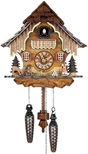 Adolf Herr Quartz Cuckoo Clock – in The Black Forest AH 21 QM