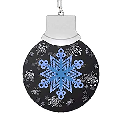 LED Let It Snow Animated Snowflake Necklace by Blinkee: Toys & Games
