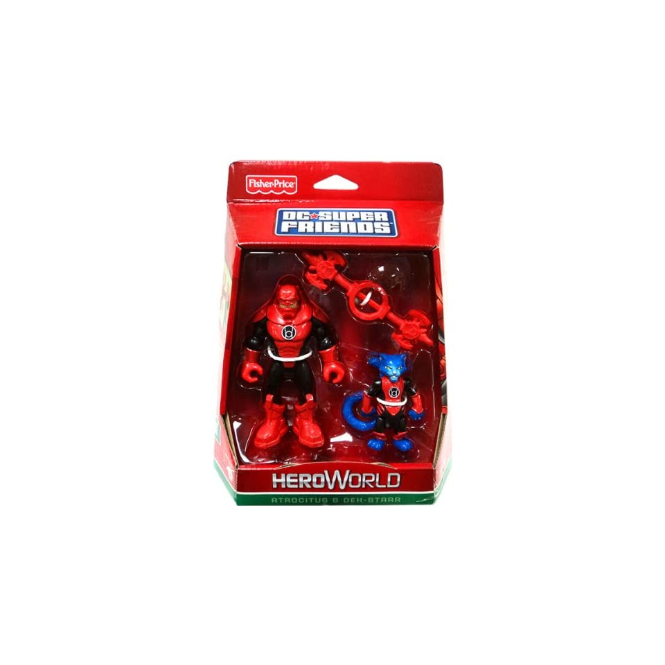 DC Super Friends Hero World Action Figure 2Pack Atrocitus DexStarr