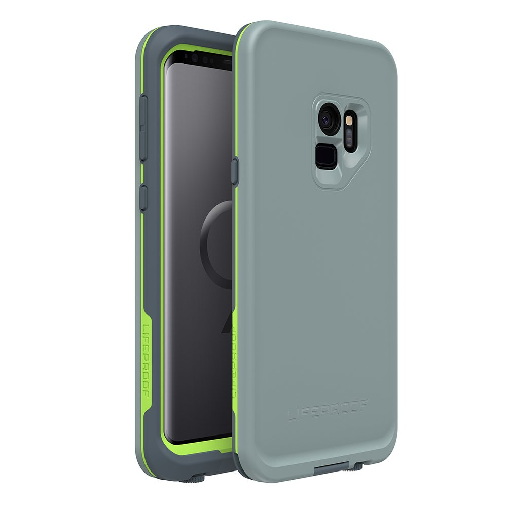 LifeProof 7757862 Case for Samsung Galaxy S9, Black/Lime 77-57862
