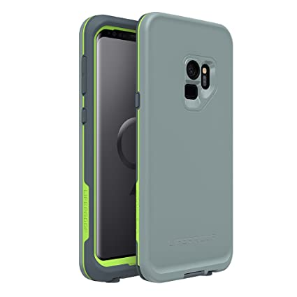 Lifeproof FRĒ Series Waterproof Case for Samsung Galaxy S9 - Retail Packaging - Drop in (Abyss/Lime/Stormy Weather)