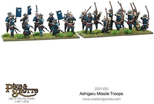 Pike and Shotte Ashigaru missile troupes Box-plastique