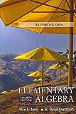 Elementary Algebra, Tussy and Gustafson, 0495389676