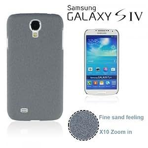OnlineBestDigital - Frosted Surface Hard Back Plastic Case for Samsung Galaxy S4 IV I9500 / I9505 - Grey