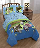 #10: Minecraft Animal Queen Sheet Set