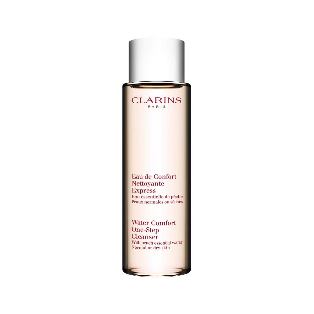 Clarins Water Comfort One-step Cleanser with Peach Essential Water (Dry/Normal Skin) 6.8 Once