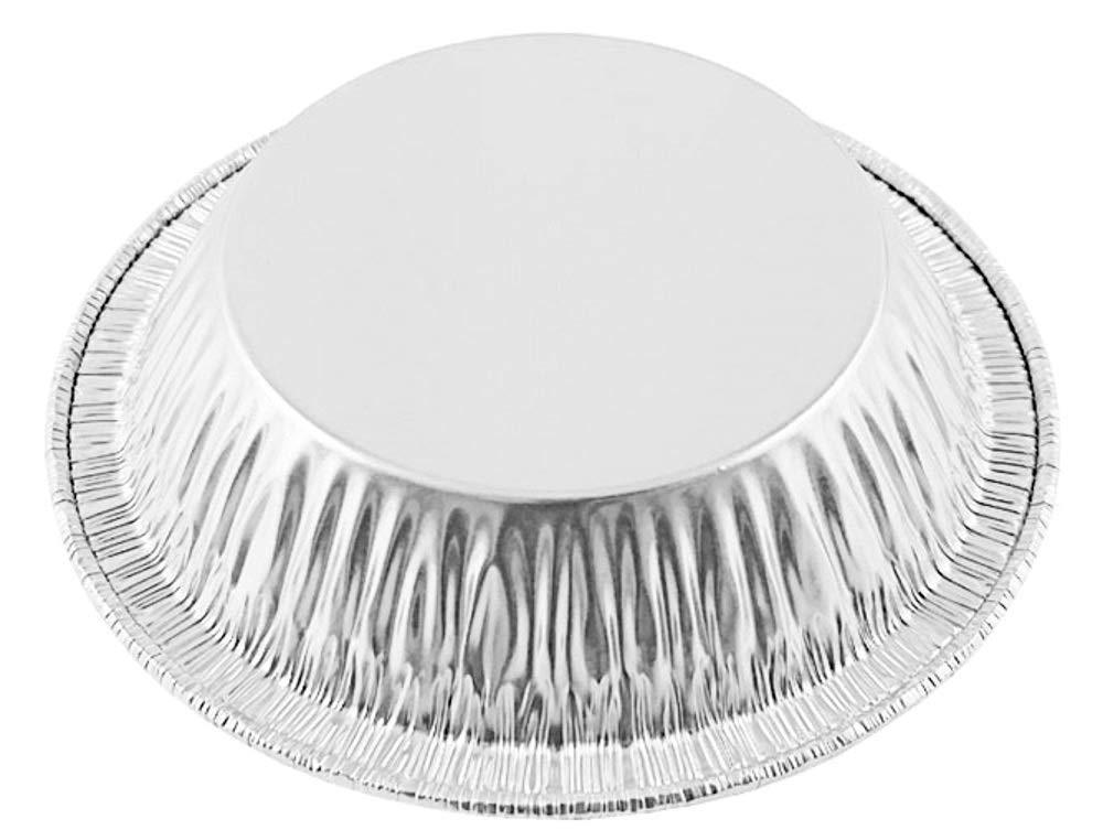 Pactogo 4'' Aluminum Foil Tart Pan 7/8'' Deep - Disposable Mini Baking Pie Tins (Pack of 1000)