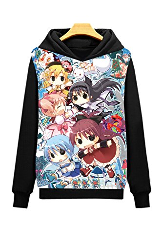 Dreamcosplay Puella Magi Madoka Magica Lovely Pullover Hoodies(Asian Size XL)