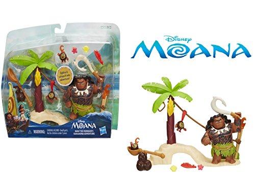 Disney Moana - Maui the Demigod's Kakamora Adventure