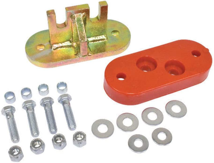 TRANS MOUNT ADAPTER KIT LATE CHASSIS W//2-BOLT NOSE CONE EARLY TRANS