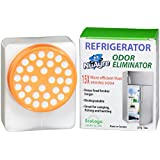 Fridge Odor Eliminator Freezer Cooler NuAyre UL Certified EcoLogo Activated Charcoal Removes Eliminates all VOCs - Fridge