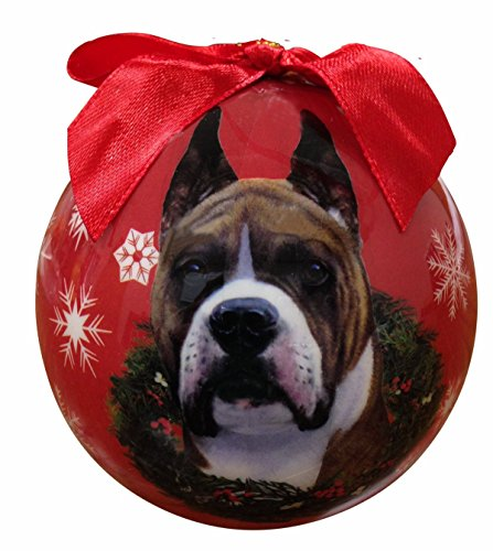 Dea Dog Costume (Boxer Christmas Ornament Shatter Proof Ball Easy To Personalize A Perfect Gift For Boxer Lovers)