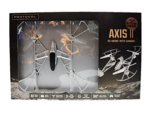 Protocol Air - Axis II RC Drone with Camera (Item # 6182-4RC MCE)