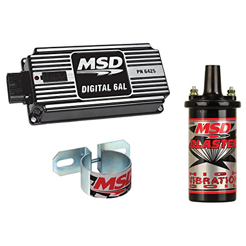 MSD 64253-K2 Ignition Kit Digital 6AL Box Blaster HV Coil Un