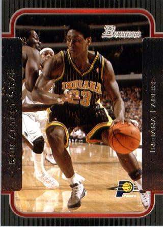 39786d68cec2 Amazon.com  2003 04 Bowman Basketball Card  37 Ron Artest Indiana ...