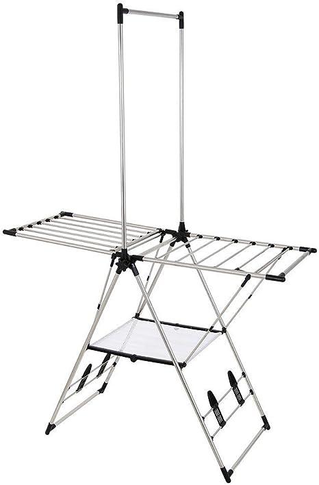 greenway indoor outdoor drying rack with mesh shelf gfr2019ss
