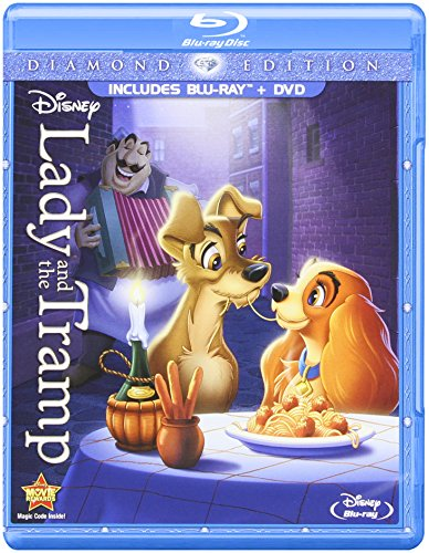 Lady and the Tramp (Diamond Edition Two-Disc Blu-ray/DVD Combo in Blu-ray Packaging) (Diamond Edition Disney)