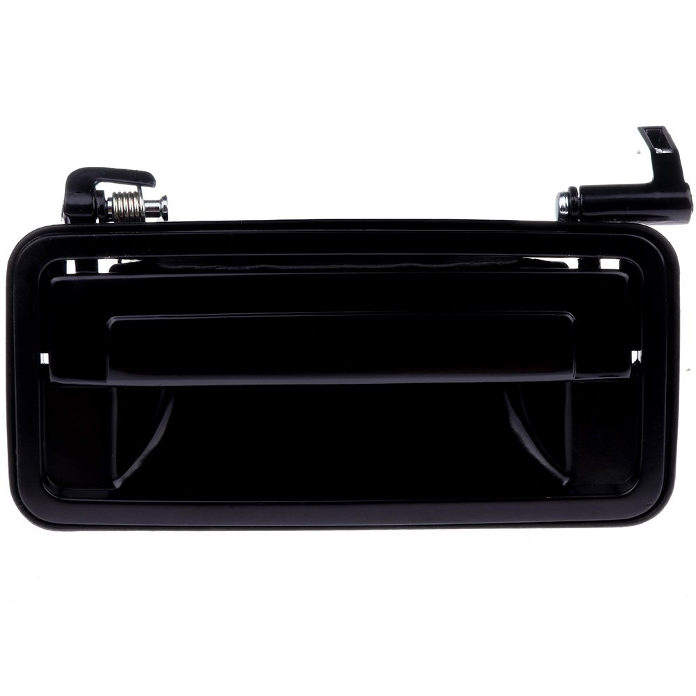 ECCPP Door Handle Exterior Outside Outer Driver Side for 1987-1996 Chevrolet 1990-1997 Oldsmobile 1990-1996 Pontiac Black
