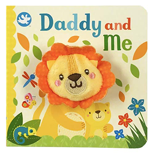 Lion Baby Toy - Daddy and Me Finger Puppet Book
