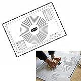 Angelwing Baking Mat Dough Fondant Measurements Size Sheeter Glass Fiber Platinum Silicone 60x40cm