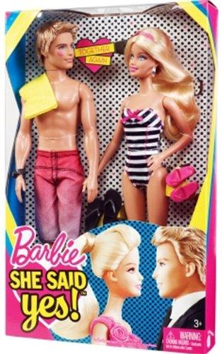 "Barbie ""She Said Yes"" Doll Giftset"