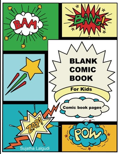 """Download Blank Comic Book For Kids: Comic book pages: 50 Pages Large 8.5"""" x 11"""" Cartoon / Comic Book panels, For drawing your own comics, Best gifts for boys ... books for kids: Comic Panels) (Volume 3) ebook"""