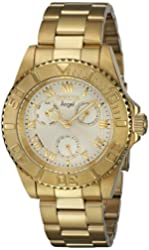 Invicta Ladys 17524 Angel Gold Dial New Stainless Steel Watch