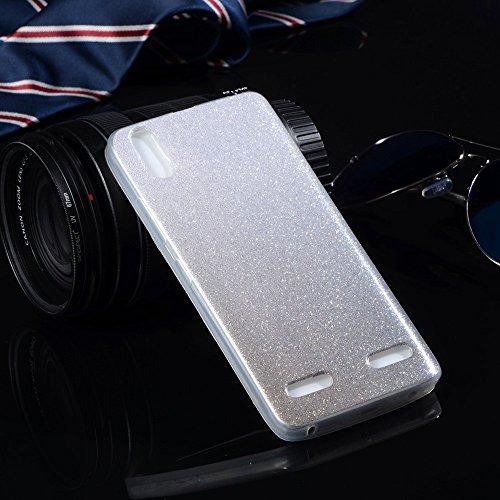 Para más la caja de Lenovo A6000 A 6000 6010 K3 K30T silicio de la cubierta del brillo ultra delgadas casos de teléfono suave TPU brillante O