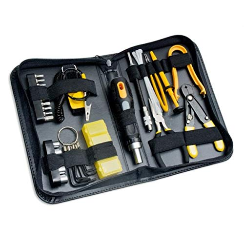SkilledPower Accessory 43 Piece PC Basic Maintenance Tool Kit with Chip Extractor and Wire St