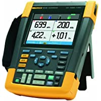 Fluke 4 Channel LCD Color ScopeMeter Oscilloscope with SCC290 Kit, 200 MHz Bandwidth, 1.7ns Rise time with a NIST-Traceable Calibration Certificate with Data