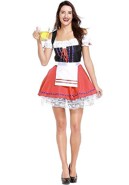 Amazon.com: XFentech Ladies German Oktoberfest Bavarian ...