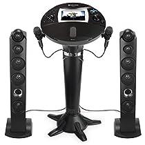 Singing Machine iSM1060BT All-Digital HD Karaoke System with Bluetooth
