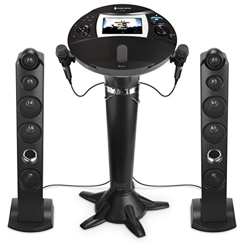 Singing Machine iSM1060BT All-Digital HD Karaoke System with Bluetooth ()