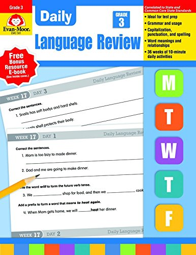 Daily Language Review, Grade 3 ()