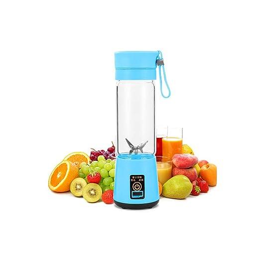 WWK Licuadora portátil para jugos, Vaso eléctrico para jugos Carga ...
