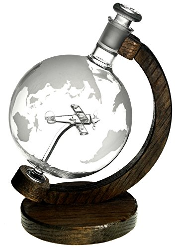 Etched Globe Decanter - 9
