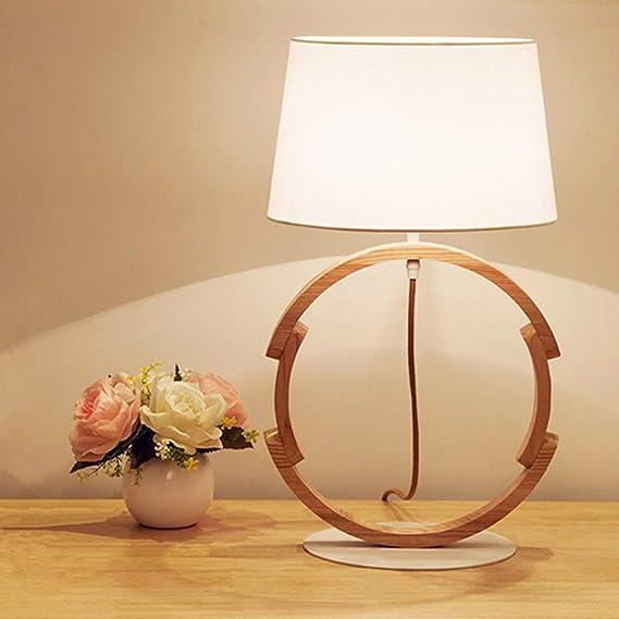 WZJ-TABLE LAMP IKEA Ins Net Lámpara de Mesa roja Habitación de ...