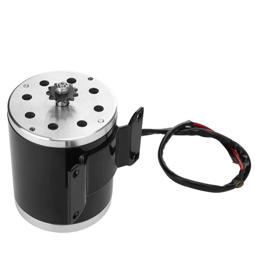motor cepillado el/éctrico de 500W DC 24V con soporte para bicicleta el/éctrica Scooter E Go-kart Motor
