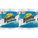 Bounty DuraTowel Paper Towels, King Roll - 4 pk