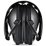 Smartlife Safety Ear Muffs, Shooting Ear Muffs, Ear Protectors Shooters Hearing Protection EarMuffs Noise Canceling NRR 21dB, Professional Ear Defenders for Shooting Hunting