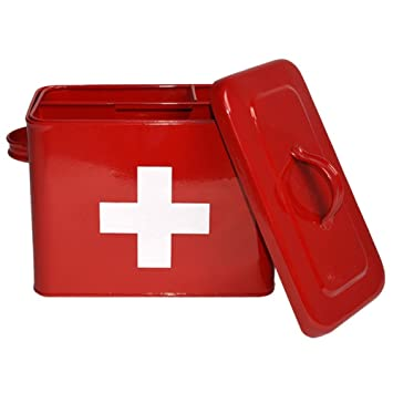 Label51 Erste Hilfe Box Medizinbox Medizin Medizinschrank ...